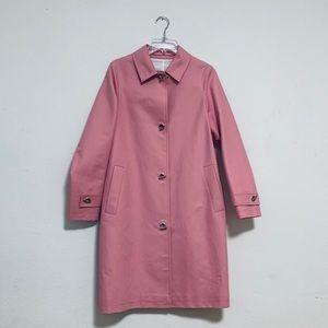 New Burberry pink coat